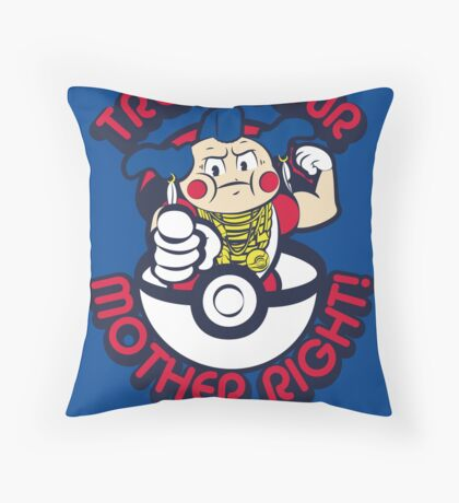 Mr M Throw Pillow