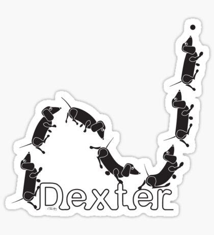Dexter The Ball Boy Sticker