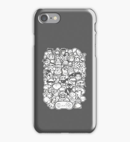 Super 16 bit iPhone Case/Skin