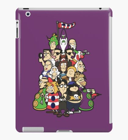Day at the Mansion in colour! iPad Case/Skin