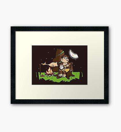 Roast Kazooie Framed Print