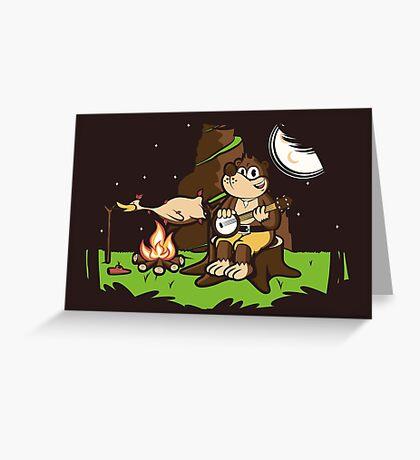 Roast Kazooie Greeting Card