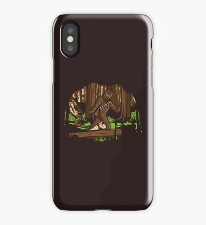 Bigfoot iPhone Case