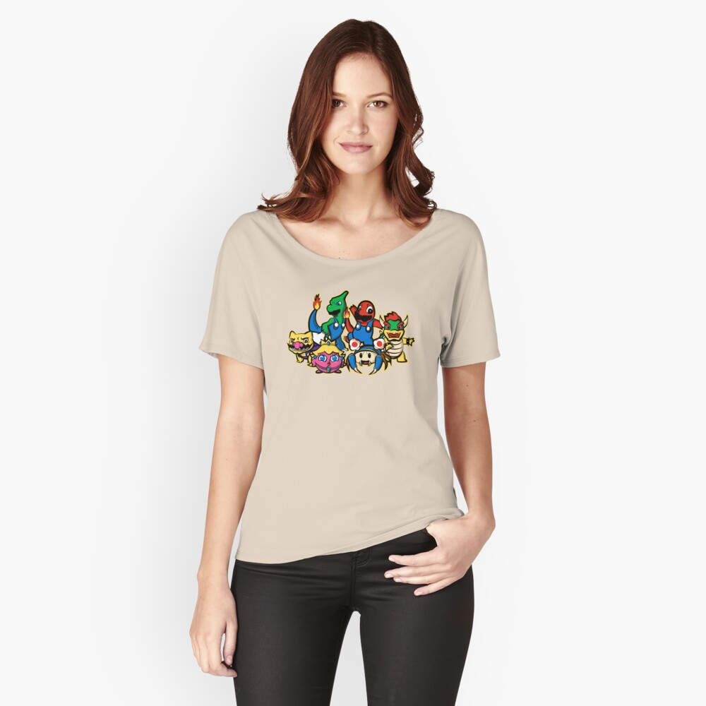 Mariomon Women's Relaxed Fit T-Shirt Front