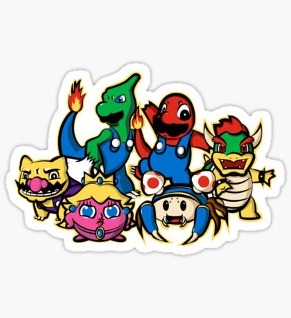 Mariomon Sticker