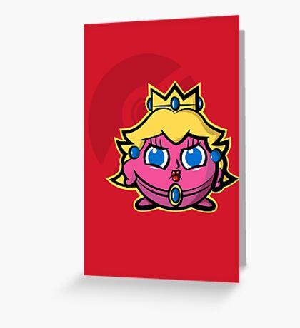 Peachypuff Greeting Card