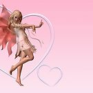 Pink Valentine Fairy by algoldesigns