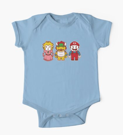 Chibi Mushroom Kingdom Kids Clothes