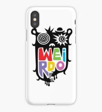 Big Weirdo - multi iPhone Case/Skin