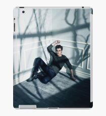 Stefan Salvatore - The Vampire Diaries - Season 4 - Promotional Poster iPad Case/Skin