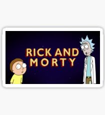 Rick And Morty - Sticker/Mug/Posters/And More! Sticker