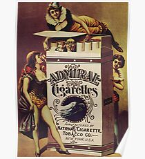 Vintage poster - Admiral Cigarettes Poster