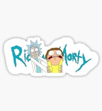 Rick And Morty Banner - Sticker/Mug/And More! Sticker
