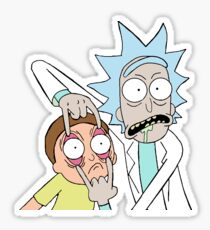 Rick And Morty - Wide Eyed Morty - Mug/Sticker/And More! Sticker