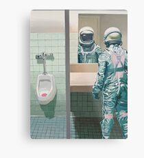 The Men's Room Metal Print