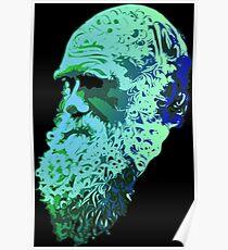 Póster Charles Darwin