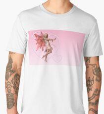 Pink Valentine Fairy Men's Premium T-Shirt