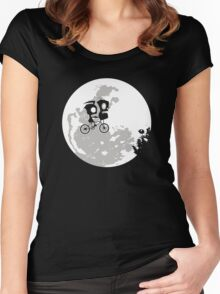 Dib and the E.T Women's Fitted Scoop T-Shirt