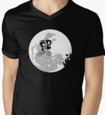 Dib and the E.T Men's V-Neck T-Shirt