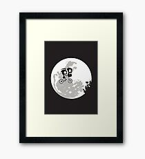 Dib and the E.T Framed Print