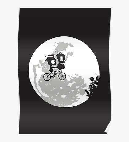 Dib and the E.T Poster