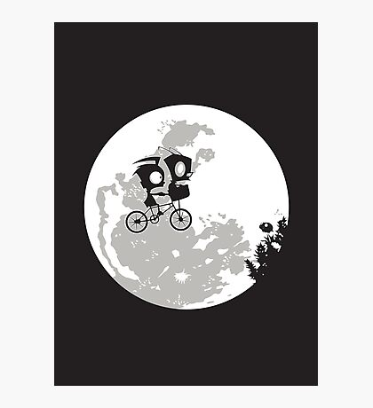 Dib and the E.T Photographic Print