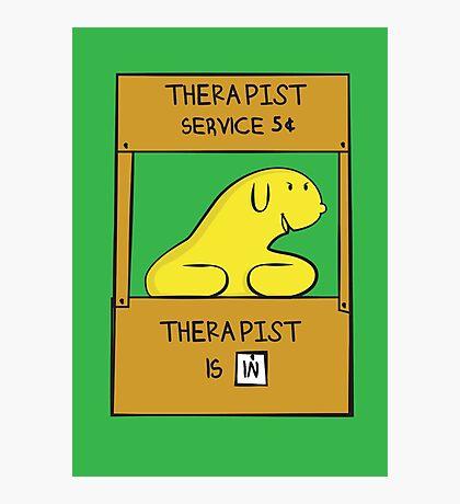 Hand Bananas Therapist Service Photographic Print