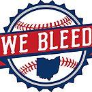 We Bleed Ohio Baseball by WeBleedOhio