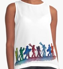 Fellowship of the Skis Contrast Tank