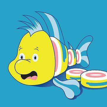Flounder Sushi by scoweston