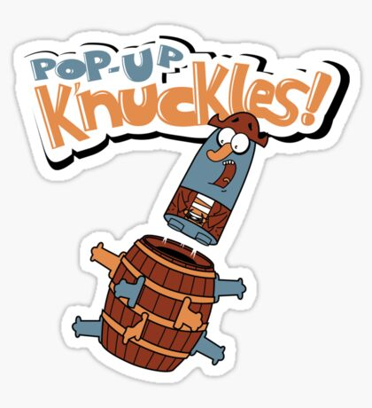 Pop - Up K'nuckles Sticker