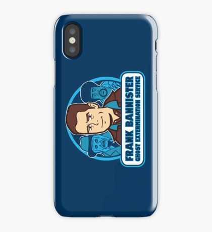 Frightener Ghost Extermination Service iPhone Case