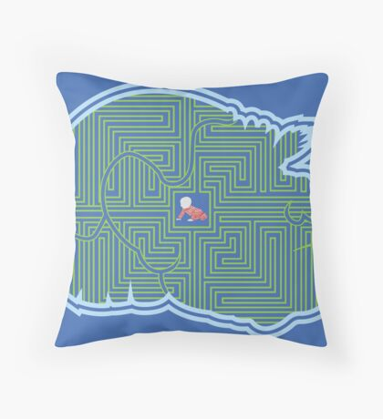 Hoggle's Labyrinth Throw Pillow