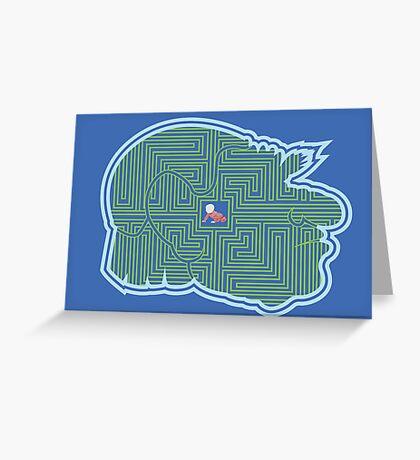 Hoggle's Labyrinth Greeting Card