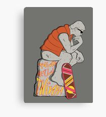 Think Mcfly, Think! Canvas Print