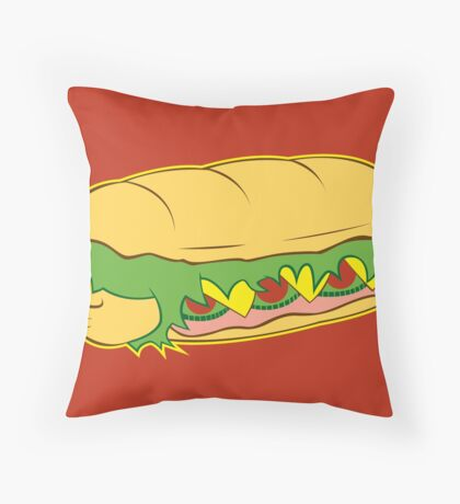 Hoagie Throw Pillow