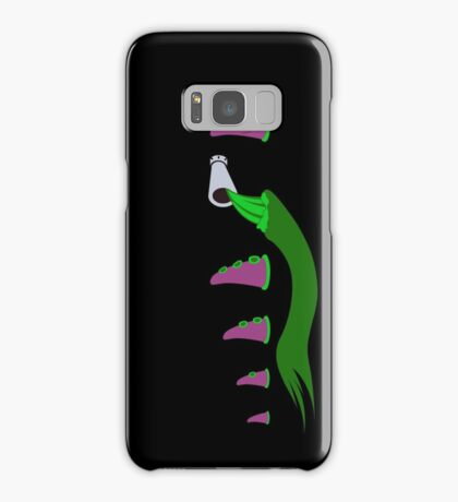 Evolution of Purple Tentacle Green Ooze Samsung Galaxy Case/Skin