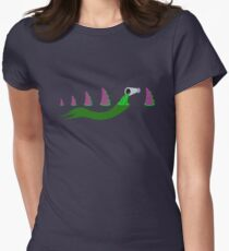 Evolution of Purple Tentacle Green Ooze T-Shirt