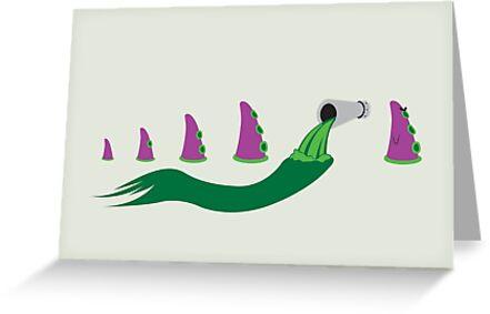 Evolution of Purple Tentacle Green Ooze by Scott Weston