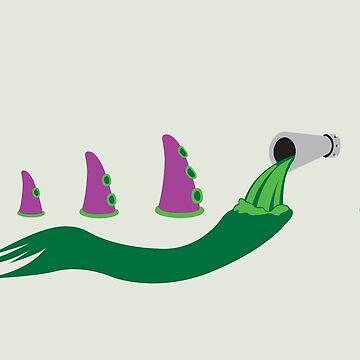 Evolution of Purple Tentacle Green Ooze by scoweston
