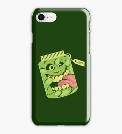 Slimer in a Jar iPhone Case/Skin