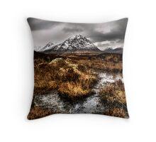 Rannoch Marsh Throw Pillow