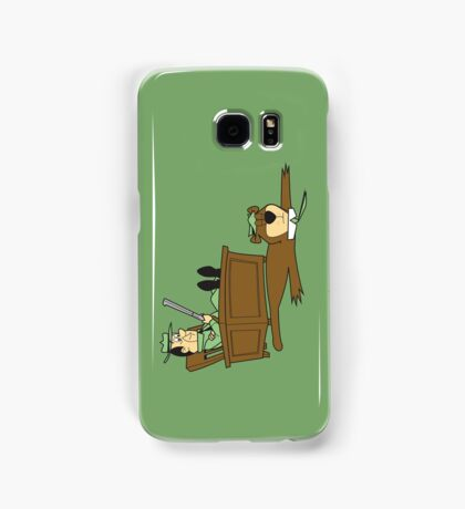 Yogi Bear rug Samsung Galaxy Case/Skin