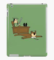 Yogi Bear rug iPad Case/Skin