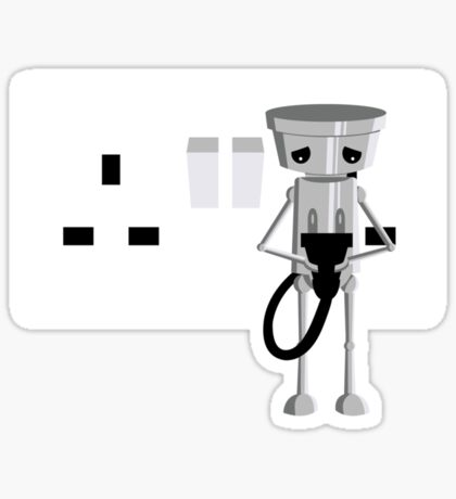 Imported Chibi Robo  Sticker
