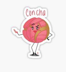 Concha Pan Dulce Sticker