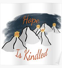 Hope is Kindled Poster