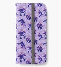 Shiraishi-Muster (extra klebrig) iPhone Flip-Case/Hülle/Klebefolie
