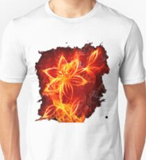 FIRE FLOWER t-shirt  T-Shirt