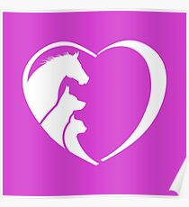 My Horse, My Dog, My Cat are Poster